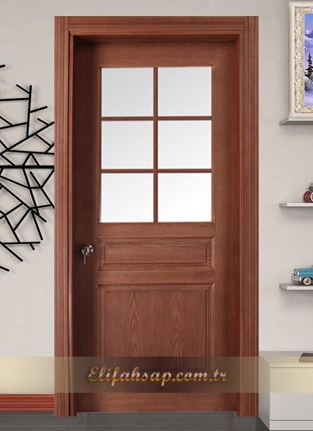 Perge Kapı Dekoratif Camlı 2