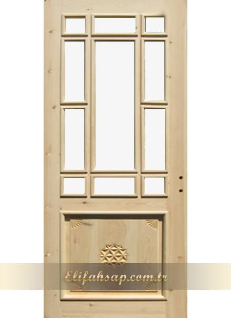 Ahşap Oyma Kapı 002